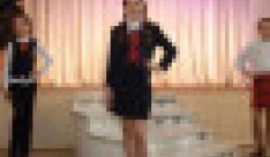 Алтайские предприятия представили варианты школьной формы. Барнаул, 20 мая 2013 года.