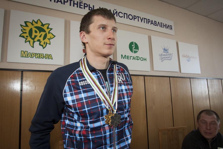 Андрей Соболев, чемпион мира по сноуборду.