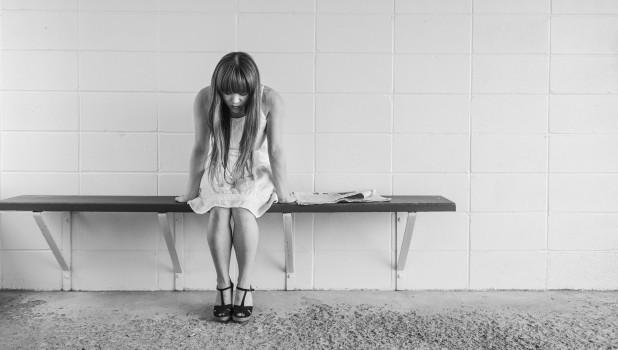 Депрессия. Девушка.