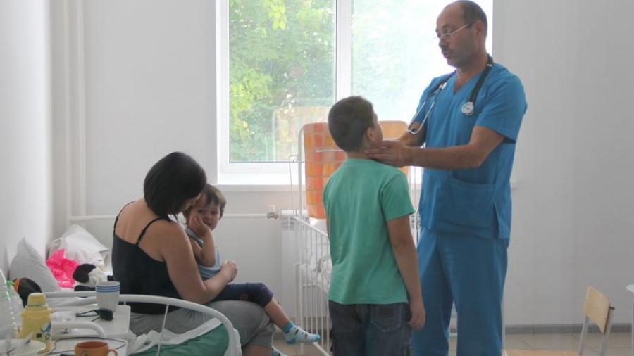 Детское инфекционное отделение городской клинической больницы № 11 после ремонта.