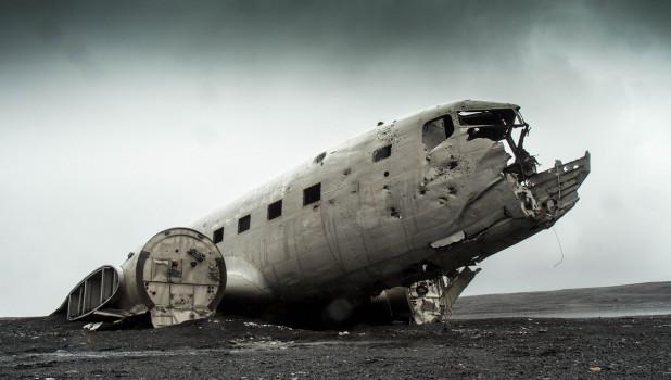 Крушение самолета.
