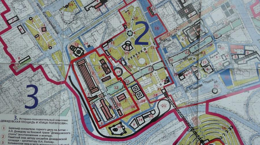 """""""Старое"""" трамвайное кольцо располагается на участке №16, новое хотят построить на участке №21."""