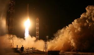 """Запуск ракеты """"Зенит"""" 11 декабря 2015 года."""