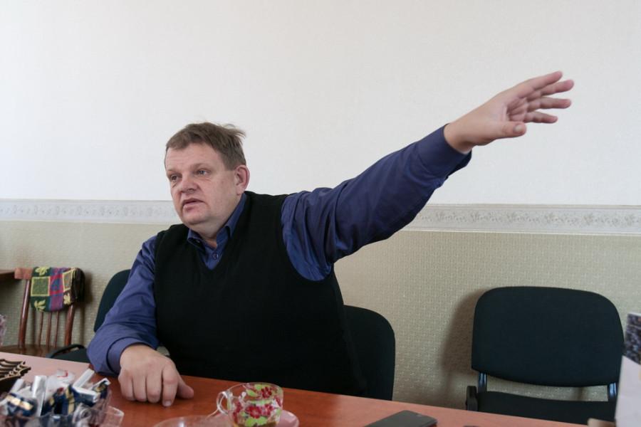 """Вячеслав Жигульский, генеральный директор предприятия """"Целина"""" (Целинный район)."""
