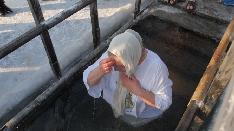 Крещение в Барнауле. 19 января 2016 года.