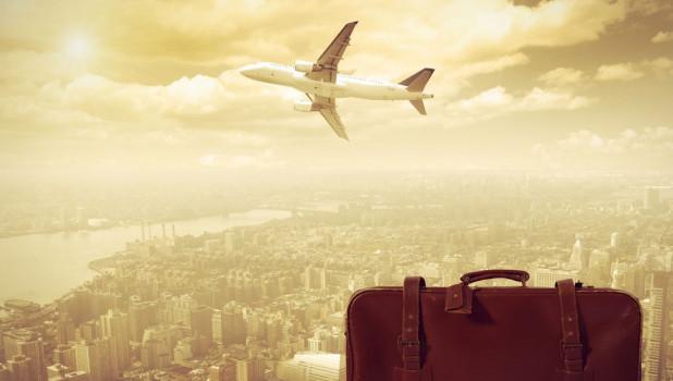 Самолет. Путешествие.