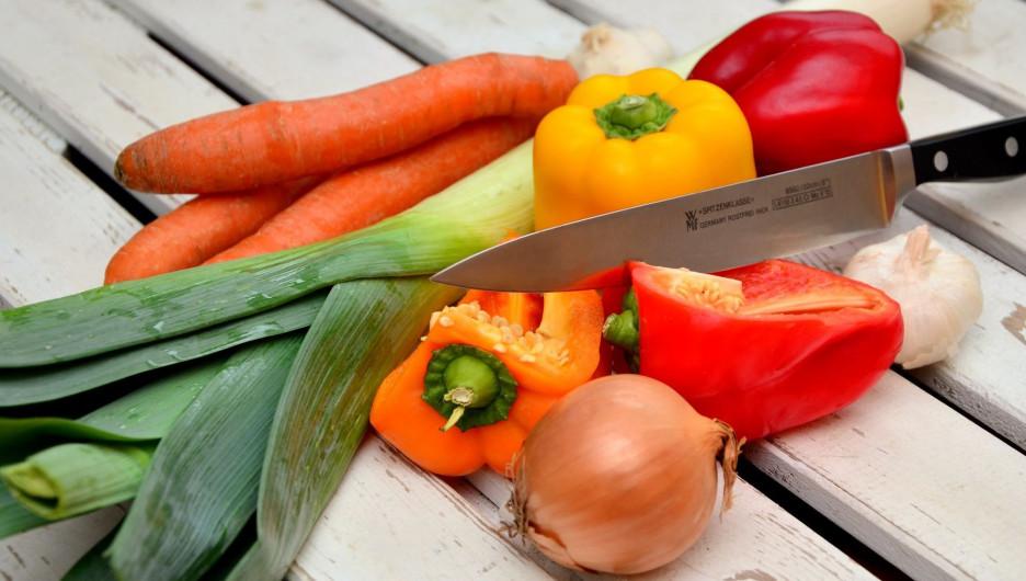 Овощи.