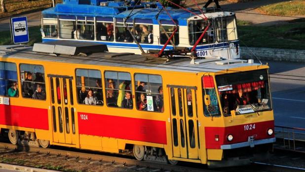 Трамвай и троллейбус.