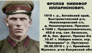 Никифор Фролов.