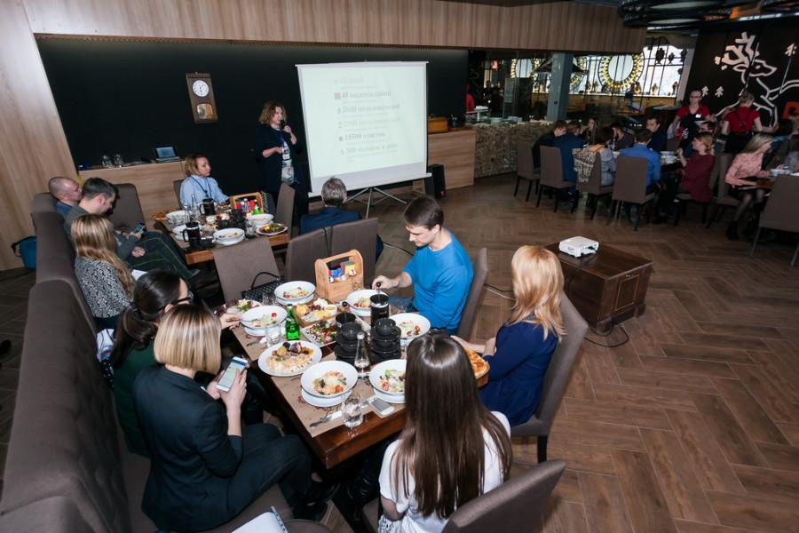 Встреча маркетологов и бизнесменов края в барнаульском мит-холле Koster.