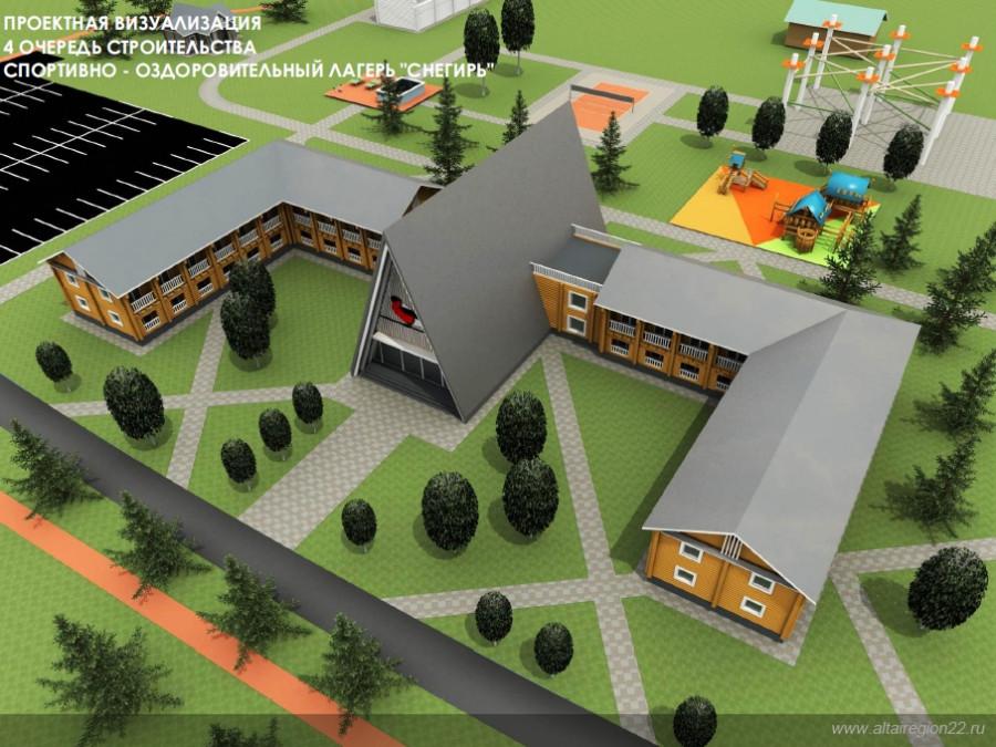 Проект туристического комплекса в поселке Тягун.