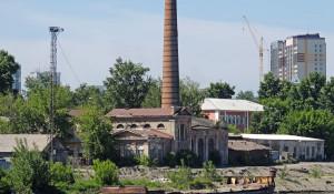"""Район барнаульского """"Ковша"""" (середина 2000-х)."""