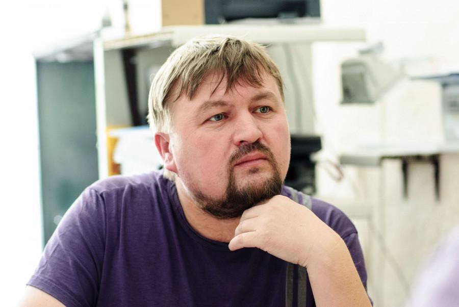 Предприниматель Вадим Пудовкин.