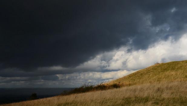 Непогода надвигается. Природа.