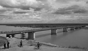 Новый мост в Барнауле.