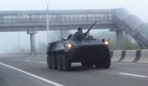 Учения военных на Алтае. 11 августа 2017 года.
