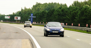 Автомобили в Барнауле. Правобережный тракт.