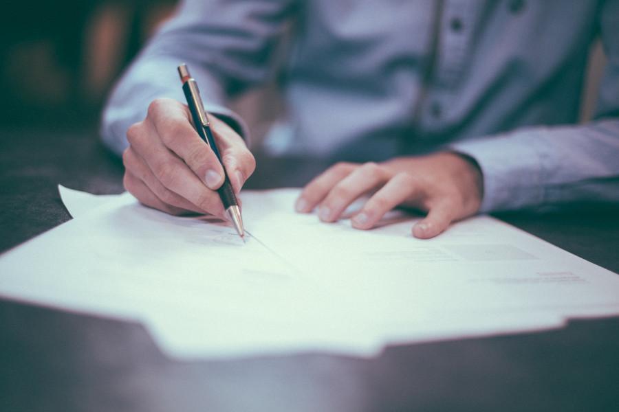 Внимательно изучите сведения, внесенные в договор.