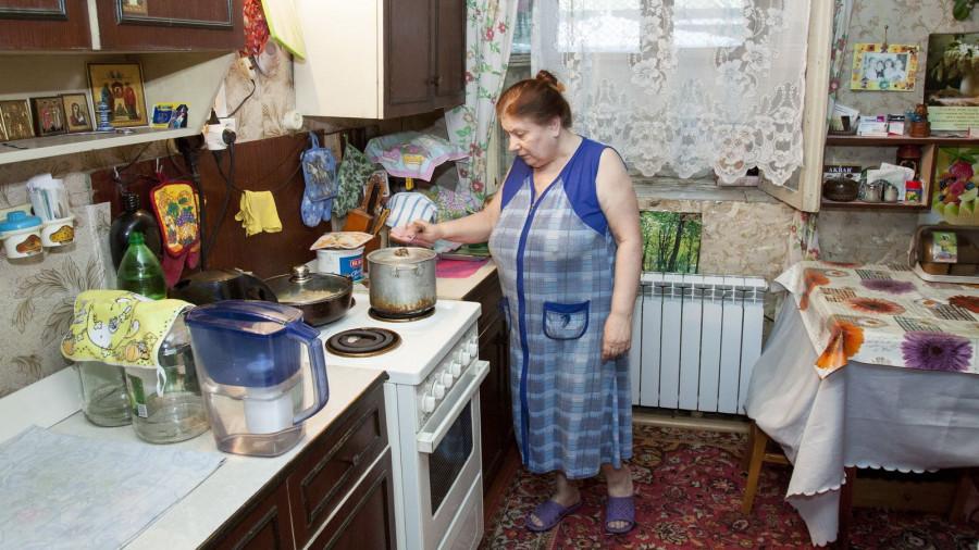 Татьяна Гаськова, жительница подвала на улице Червонной.