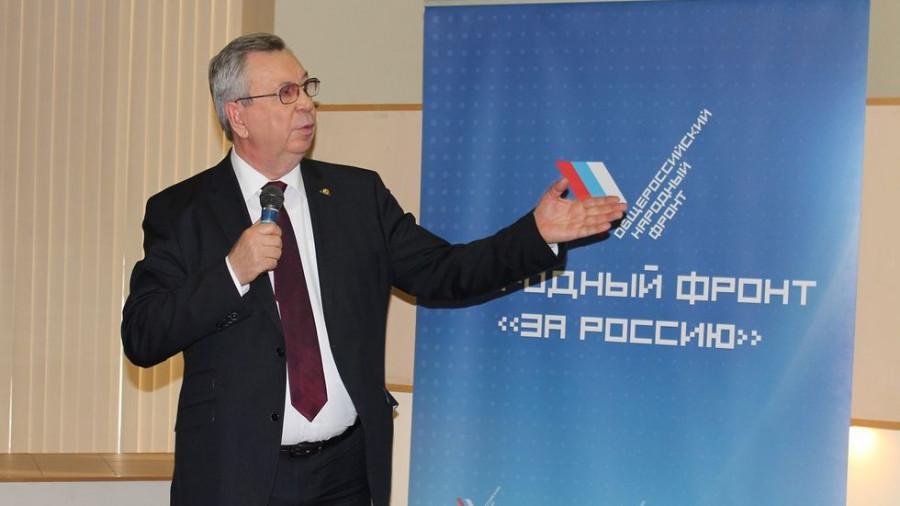 Алтайский бизнес-омбудсмен Павел Нестеров. Источник: ОНФ.