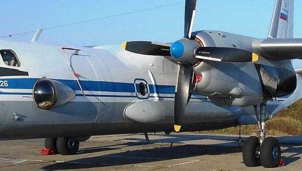 Ан-26, левый борт.