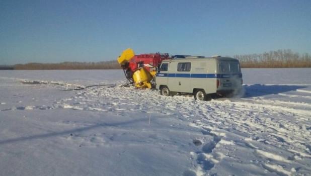 В Новосибирской области разбился минивертолет.