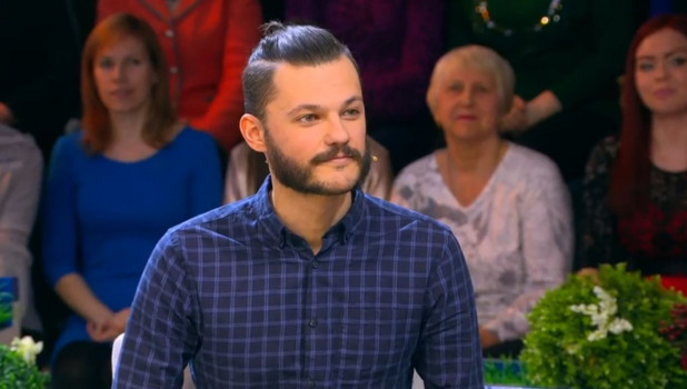 "Барнаулец Матвей Дорофеев на передаче ""Давай поженимся!""."