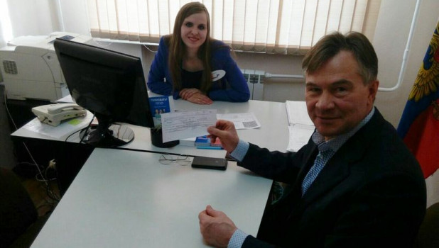 Александр Терентьев воспользуется новым способом голосования.