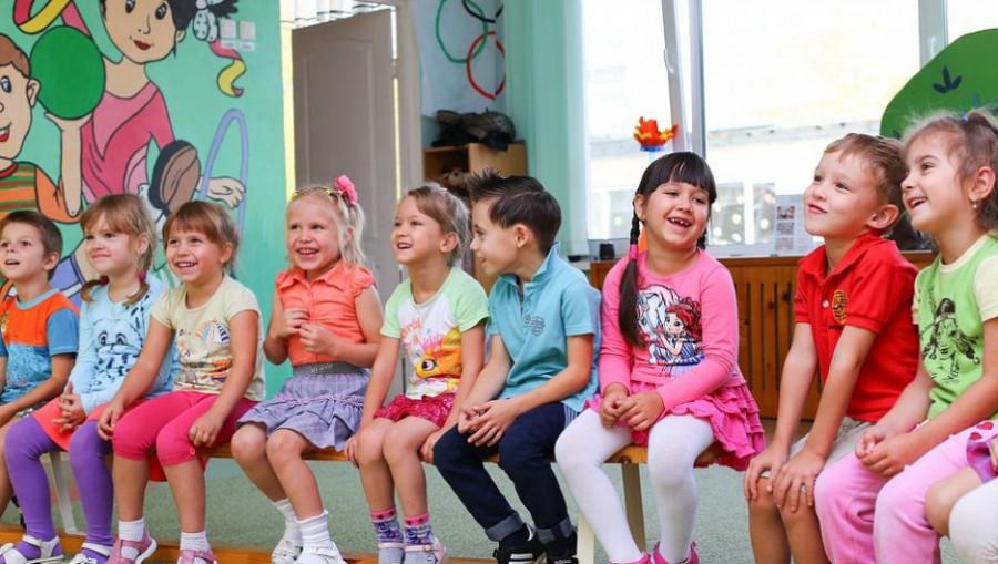 Дети. Игрушки. Детский сад.