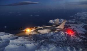 Дозаправка МиГ-31.