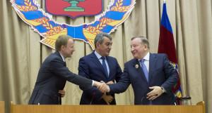 Виктор Томенко, Сергей Меняйло и Александр Карлин.