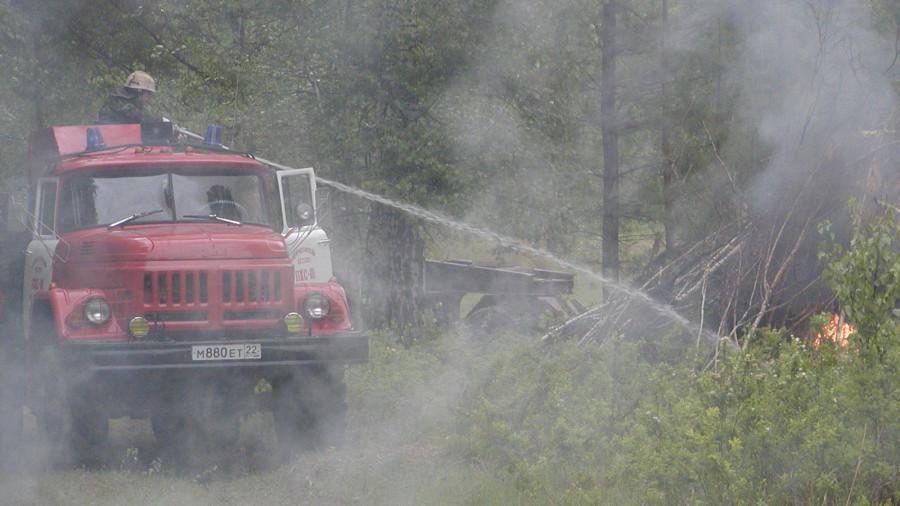 Охрана лесов от пожаров.