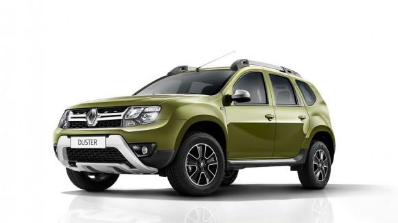 Обновленный Renault Duster.