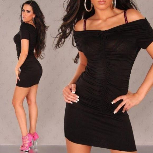 Короткие обтягивающие платья