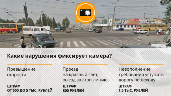 карта камер фотофиксации нарушений пдд - фото 4